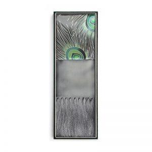 Silk Shawls - Peacock